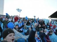 Mladí slovanisti na zápase
